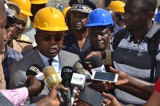 Quai de débarquement de Soumbédioune :  L'ouvrage sera inauguré en février 2018 selon Omar Gueye