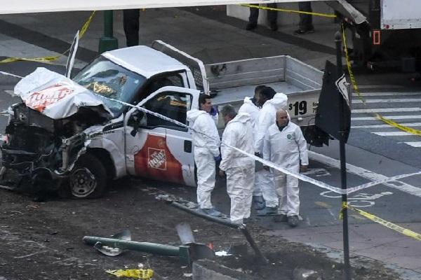 Etats-Unis : ce que l'on sait de l'attaque à la camionnette qui a fait huit morts à New York