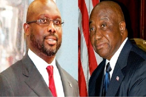 Liberia : La plainte de l'opposition finalement rejetée, George Weah fera face au vice-président sortant, Joseph Boakai