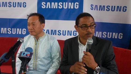 Sung Yoon, Président  et CEO Samsung Electronics Africa :  « Notre  part de marché de téléphone en Afrique dépasse 50% »