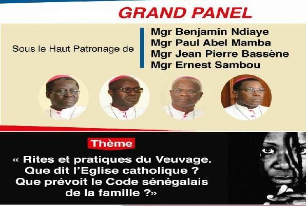 Conférence/débats : «Rites et pratiques du Veuvage. Que dit l'Eglise catholique ? Que prévoit le Code sénégalais de la famille ? »