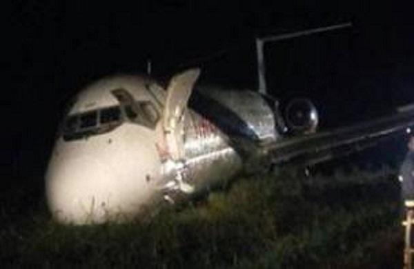 Nigeria : crash d'un avion qui se retrouve dans la brousse sans faire de victime