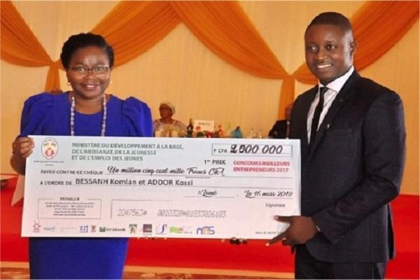 Concours Meilleurs Entrepreneurs : Le Togo honore le dynamisme de sa  jeunesse