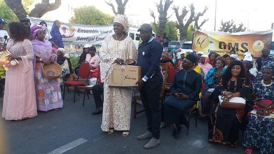 Centenaire-Gibraltar : Maïmouna Ndoye Seck  accorde des financements   aux femmes