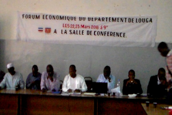 Louga : ouverture hier jeudi d'un Forum économique départemental