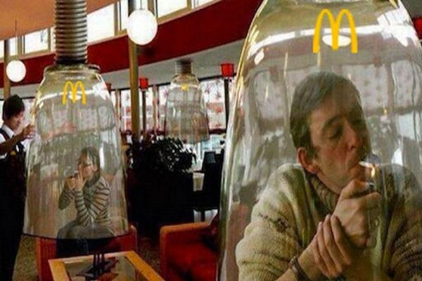 Décision nouvelle : Colorado McDonald's offre sa première section à des fumeurs de marijuana