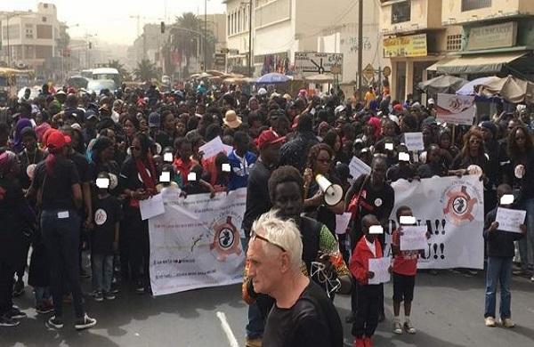 Enlèvements et meurtres d'enfants : Vaste mobilisation hier à Dakar à l'appel du « Collectif pour la protection de l'enfant »