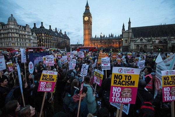 Visite confirmée en Grande Bretagne : Donald Trump bientôt face à une manifestation de masse