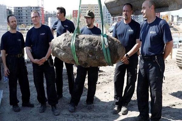 Allemagne : Une bombe datant de la seconde guerre mondiale désamorcée à Berlin