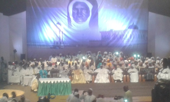 Conférence religieuse 2018  du « Daara » Seydina Limamou Lahi : Maïmouna Ndoye Seck pour l'accès des femmes « Layénes » au financement
