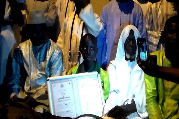 Récital du Saint Coran : Louga a triomphalement accueilli Moustapha Dia, son jeune crack
