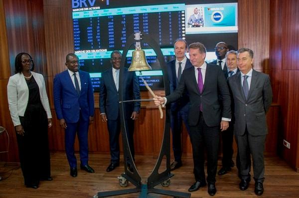 Visite de travail : le Président de Deloitte France et Afrique Francophone  à l'ouverture de la journée de cotation de BRVM