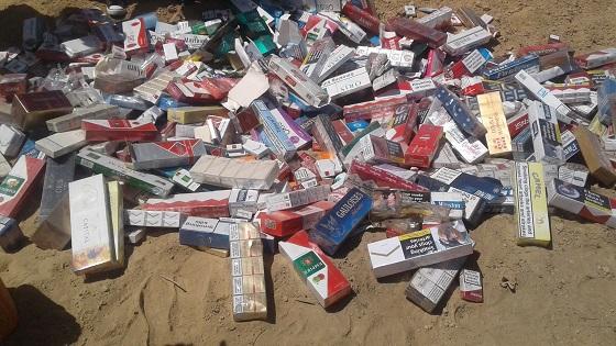 Lutte contre la fraude :  Incinération de 1652 boîtes de cigarettes d'une valeur de plus de 1,7 million F CFA