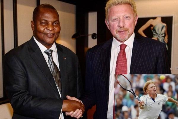 Tennis : Poursuivi par Dame-justice, l'ancien champion mondial Boris Becker brandit un faux passeport diplomatique centrafricain