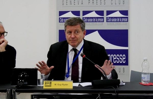 Guy Ryder, Directeur général de l'OIT : « le COVID-19 met en évidence la fragilité de nos économies »