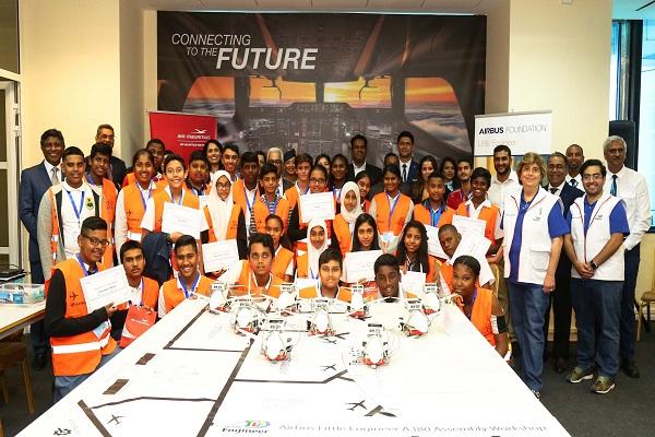 Technologie : L'Institut Air Mauritius et la Fondation Airbus titillent l'intérêt pour l'aviation de la prochaine génération d'innovateurs