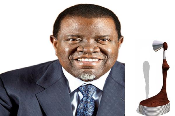 Distinction : S.E Dr. Hage Geingob, le présient namibien, reçoit le Prix d'Excellence Africain sur le Genre 2017