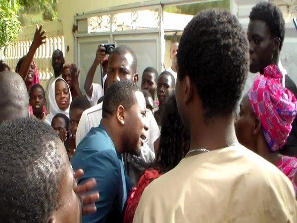 Louga : la caravane de Bougane Guéye  Dany barrée par des inconditionnels du Maire Moustapha Diop
