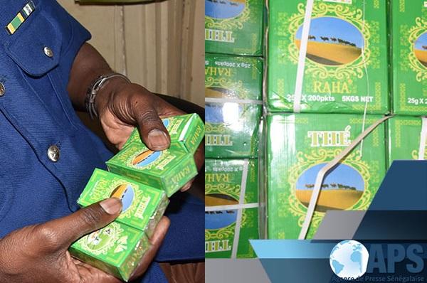 Trafic : un homme arrêté hier avec plus de 2000 cartons de thé impropre à la consommation