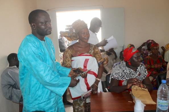 Insécurité alimentaire : Caritas Sénégal vole au secours de près de 400 ménages dans le département de Bambey