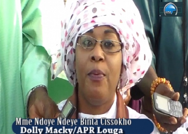 APR-Louga : Mme Ndeye Bineta Ndoye lâche le Maire Moustapha Diop pour Mamadou Mamour Diallo