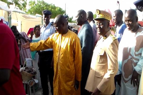 Louga : l'initiative de Modou Diagne Fada vivement saluée à la 1ère édition de la Foire « FRAAK » de Kébémer