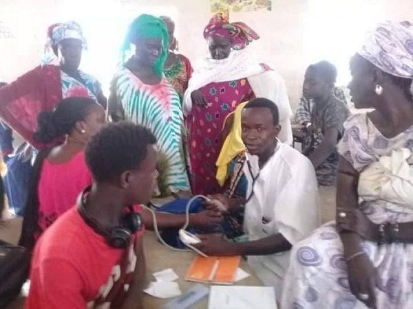 Louga: journée de consultations médicales gratuites à Barga, une première dans une ville qui n'a que deux postes de santé