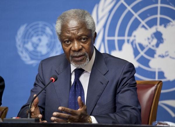 Nécrologie : décès de Kofi Annan, ancien secrétaire général des Nations unies