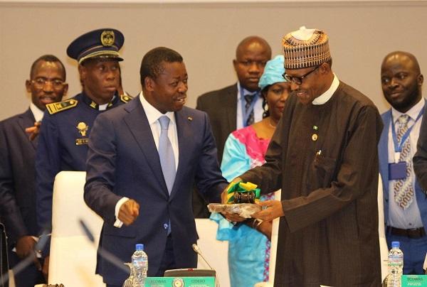 CEDEAO : Muhammadu Buhari succède à Faure Essozimna Gnassingbé à la tête de la Conférence des chefs d'Etat et de gouvernement