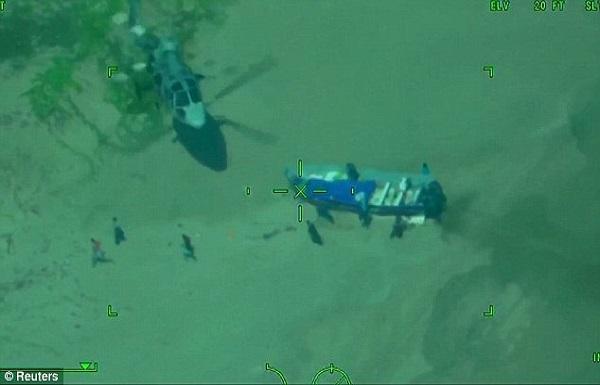 Trafic de drogue : course-poursuite entre un hélicoptère militaire mexicain et des trafiquants en mer avec plus de deux tonnes de cocaïne