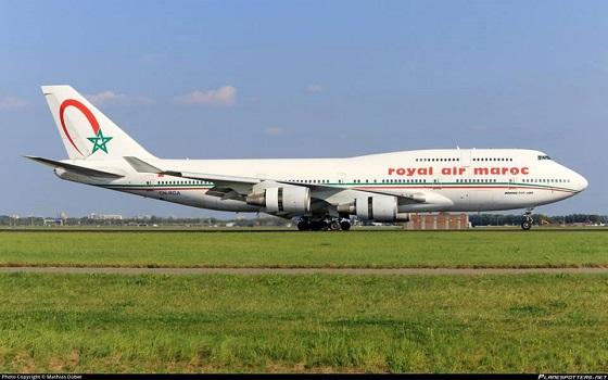 Dernier vol pour le dernier Boeing B747 de Royal Air Maroc