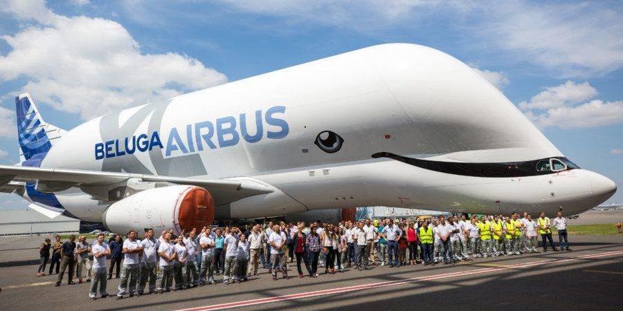 Le Beluga XL, l'avion baleine d'Airbus