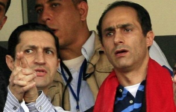 Egypte : arrestation de deux fils de l'ancien président Moubarak
