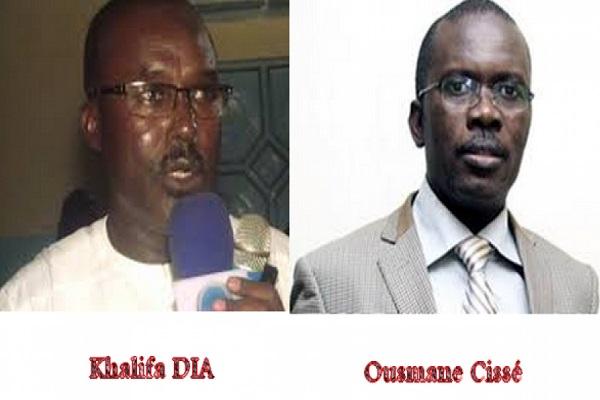 Louga : une dispersion notée entre Khalifa Dia  et Ousmane Cisse dans la collecte pour le parrainage de Benno