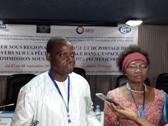 Difficultés dans la Pêche artisanale :  Les acteurs de la sous-région  entendent porter le plaidoyer  au plus haut niveau