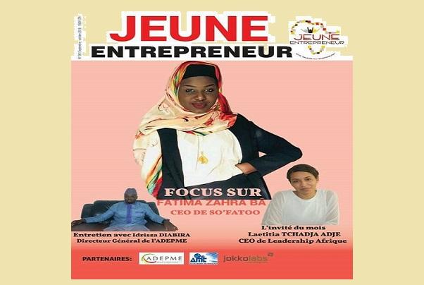 Entreprenariat des jeunes :   Jeune Entrepreneur, un magazine  bimestriel en kiosque pour plus de visibilité et d'informations fiables