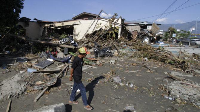 Tremblement de terre et  tsunami en Indonésie : l'OIT compatissante se dit prête à travailler de manière étroite avec le gouvernement