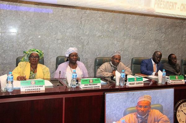 CEDEAO : Le règlement financier révisé et le nouveau code de passation des marches au menu de la 3eme réunion extraordinaire du CAF