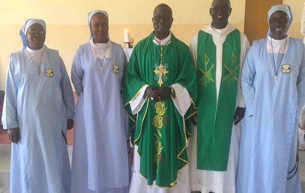 Religion : les Religieuses de l'Institut Contemplatif et Missionnaire Regina Pacis s'installent dans le diocèse de Thiès