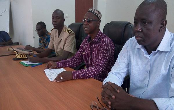 Observatoire National des territoires/Goudomp : les points focaux  formés sur la gestion de la Plateforme