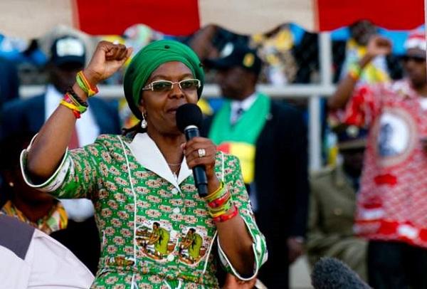 Justice : l'Afrique du Sud lance un mandat d'arrêt contre Grace la femme de Mugabe,