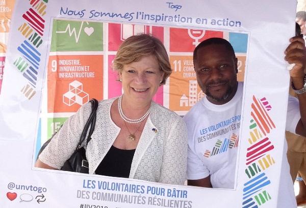 Togo : La 18ème journée internationale des volontaires célébrée à Atakpamé