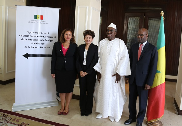 Coopération : Signature d'un Accord de siège entre le Sénégal et quatre institutions internationales