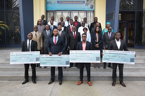 Brvm/Concours Fintech Innovation Challenge : les quatre Lauréats Connus