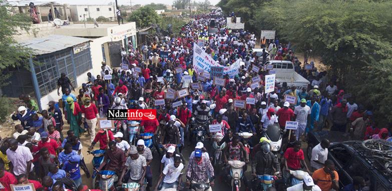 MENACE DE FERMETURE DE LA CSS : RICHARD-TOLL marche contre « la plus grosse catastrophe économique de l'histoire du Sénégal »