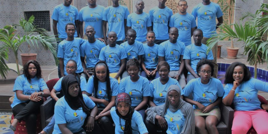 Développement communautaire : 21 volontaires honorés après leur mission en zone rurale
