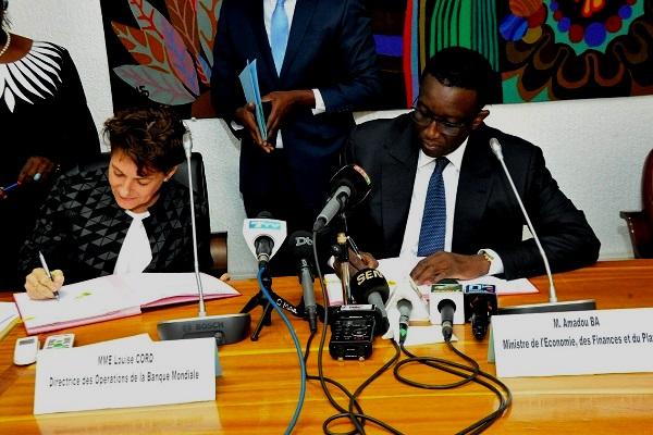 L'appui budgétaire de la Banque Mondiale au Sénégal: Mme Louise Cord, de la Banque mondiale et Amadou Bâ reviennent sur les axes prioritaires