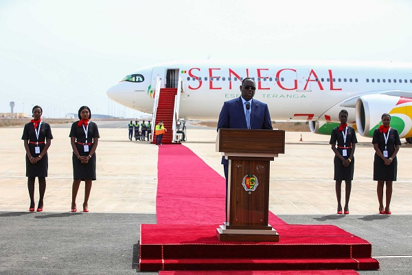 Transport aérien: le premier A330neo d'Air Sénégal arrive à Dakar avant sa livraison
