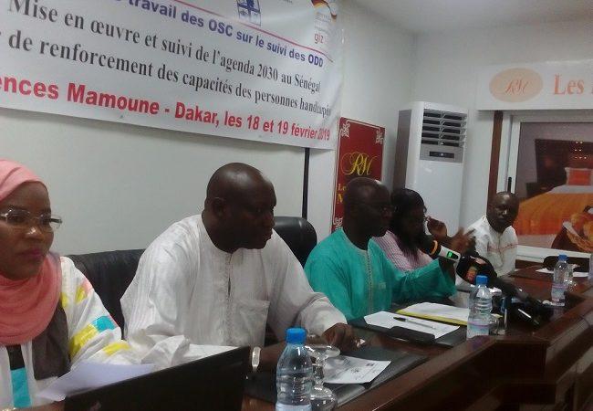 Mise en œuvre de l'agenda 2030 au Sénégal : Plaidoyer des personnes handicapées pour leur prise en compte dans les programmes