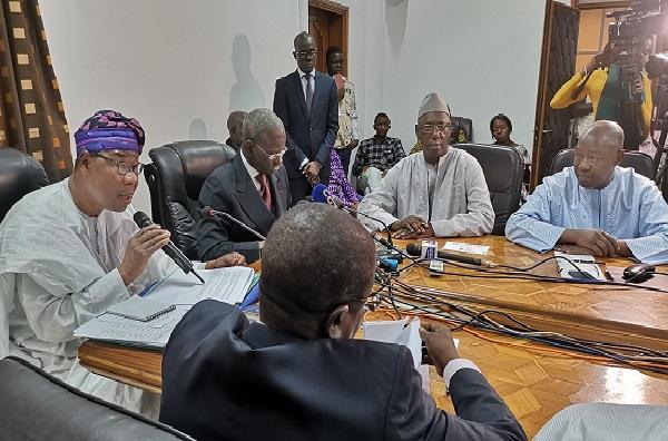 Présidentielle sénégalaise Thomas Boni Yayi, chef de la Mission d'observation, a rencontré hier des acteurs de l'élection 24 février 2019